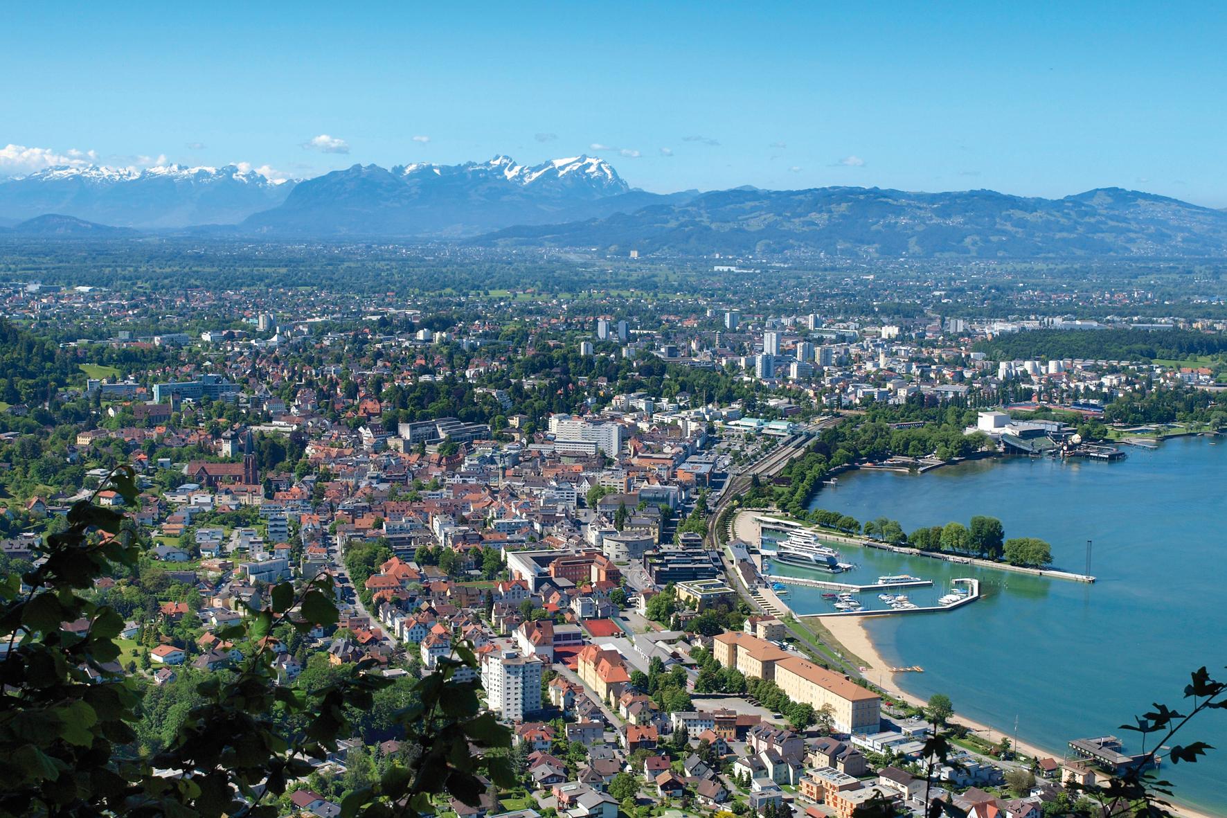Bregenz Austria  city pictures gallery : Panorama Bregenz, © Bregenz Tourismus/Curt Huber