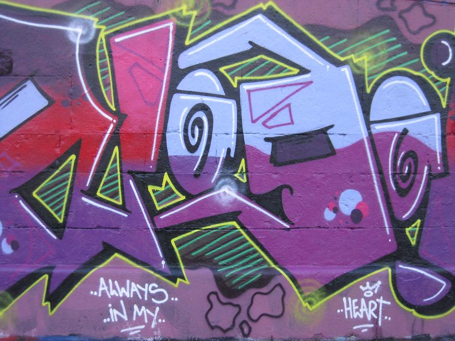 Graffito 'Always In My Heart'