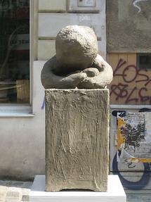 Plastik 'Der BeSITZende' von Rikki Reinwein 2005