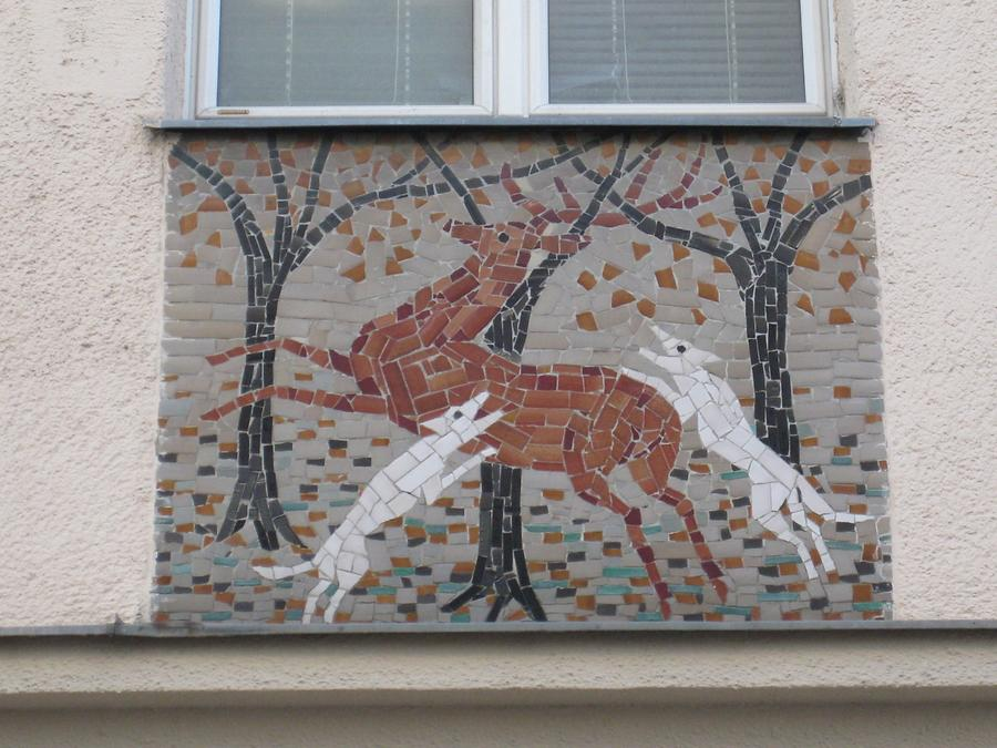 Fabel-Mosaik (Mitte links)