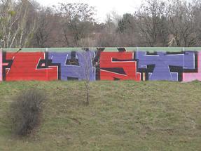 Graffito 'Lust'