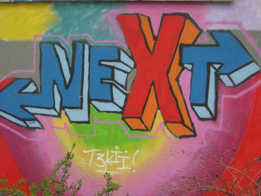 Graffito 'Next'