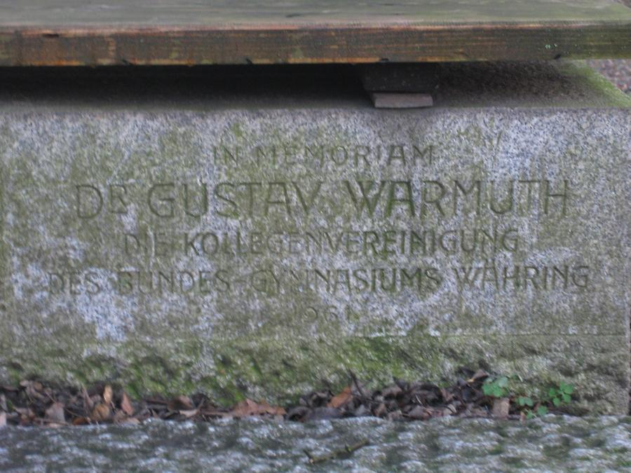 Gustav Warmuth Gedenktafel