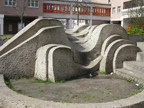 Brunnenanlage von Mathias Hietz 1978