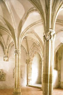 Kapitelsaal des Franziskanerklosters Sopron