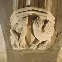 Gewölbekonsole im Kapitelsaal von Sopron (3)