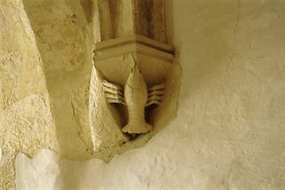 Gewölbekonsole im Kapitelsaal von Sopron (2)