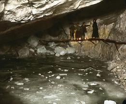Eissee in der Ötscherhöhle