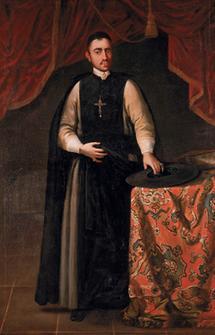 Portrait von Abt Melchior Zaunaggs