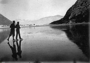 Spiegeleis auf dem Achensee