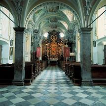 Innenansicht der Wallfahrtskirche