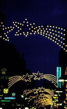 Die Kärntnerstrasse im Advent