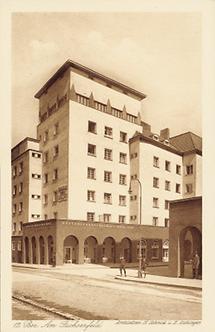 Wohnhausbau der Gemeinde Wien am Fuchsenfeld