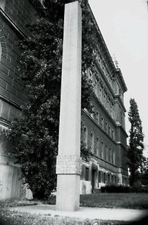 Denkmal für Architekt Otto Wagner