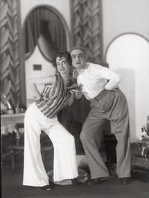 Luli Hohenberg und Wilhelm Heim