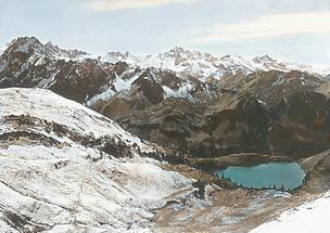 Die Allgäuer Alpen vom Nebelhorn
