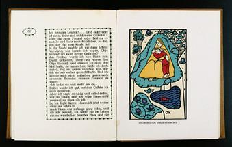 Illustration für den Almanach der Wiener Werkstätte (1)