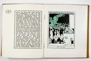 Illustration für den Almanach der Wiener Werkstätte (2)
