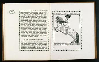 Illustration für den Almanach der Wiener Werkstätte (3)