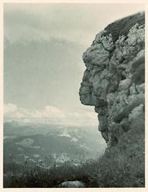 Felsformation in den österreichischen Alpen