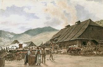 Kupferhütte bei Slovenka in der Zips