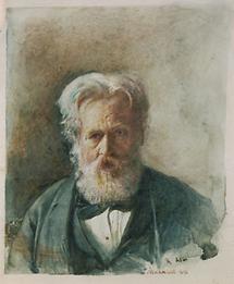 Selbstportrait  Rudolf von Alt