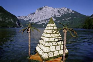 Das Narzissenfest auf dem Altausseer See