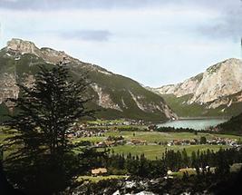 Blick auf den Altaussee