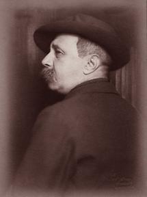 Der österreichische Schriftsteller Peter Altenberg