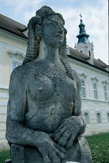 Wachende Sphinx von Stift Altenburg