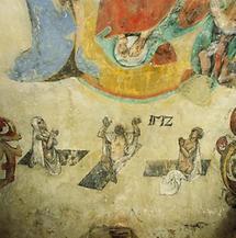 Fresko in der Altenburger Gruft