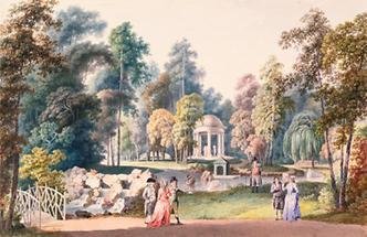 Garten des Fürsten Georg Adam Starhemberg in Alt-Erlaa