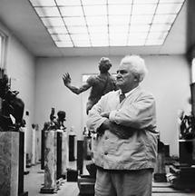 Der Bildhauer Gustinus Ambrosi (2)