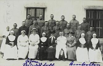 Bildpostkarte. Erster Weltkrieg. Propaganda.
