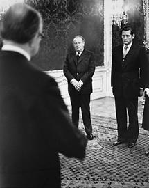 Bruno Kreisky und Hannes Androsch (1)