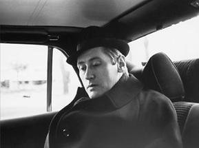 Hannes Androsch im Auto