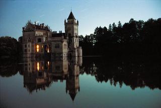 Das Wasserschloss Anif
