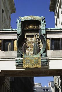 Ankeruhr am Hohen Markt in Wien