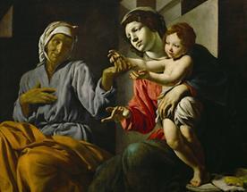 Heilige Maria mit Kind und Heilige Anna