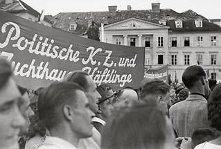 Großkundgebung gegen den Faschismus in Graz