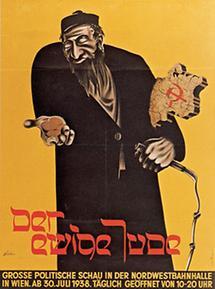 Ausstellungsplakat: Der Ewige Jude, 1938