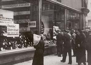Boykott der Nationalsozialisten gegen jüdische Geschäfte
