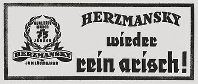 Die Arisierung des Kaufhauses Herzmansky