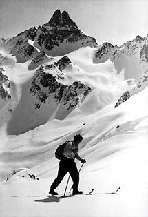 Hannes Schneider am Arlberg