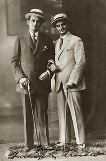 Fritz Imfoff und Ernst Arnold