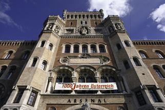 Fassade des Arsenal