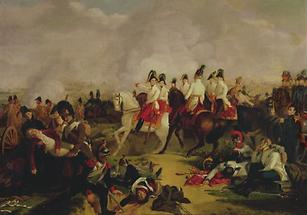 Erzherzog Karls Sieg über Napoleon