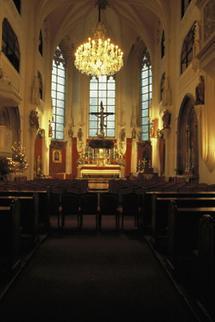 Innenansicht der Augustinerkirche