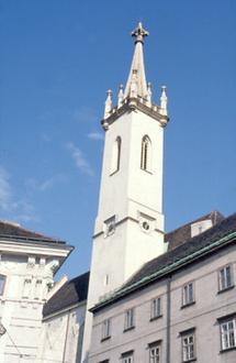 Turm der Augustinerkirche