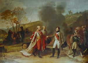 Gespräch zwischen Franz II und Napoleon I